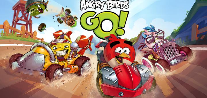 Angry Birds Go! скачать на компьютер