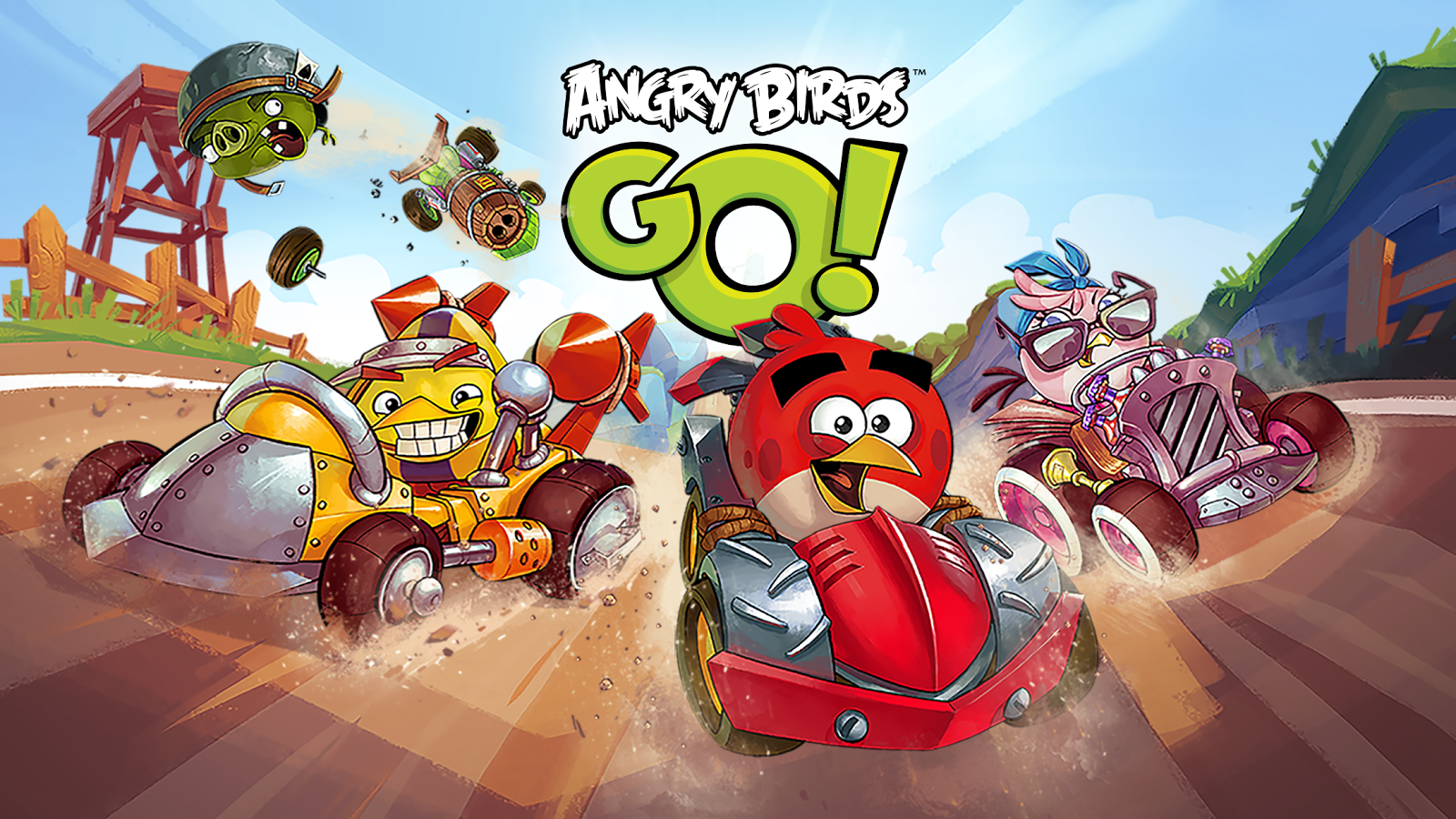 Angry birds go! | android gamepad games.