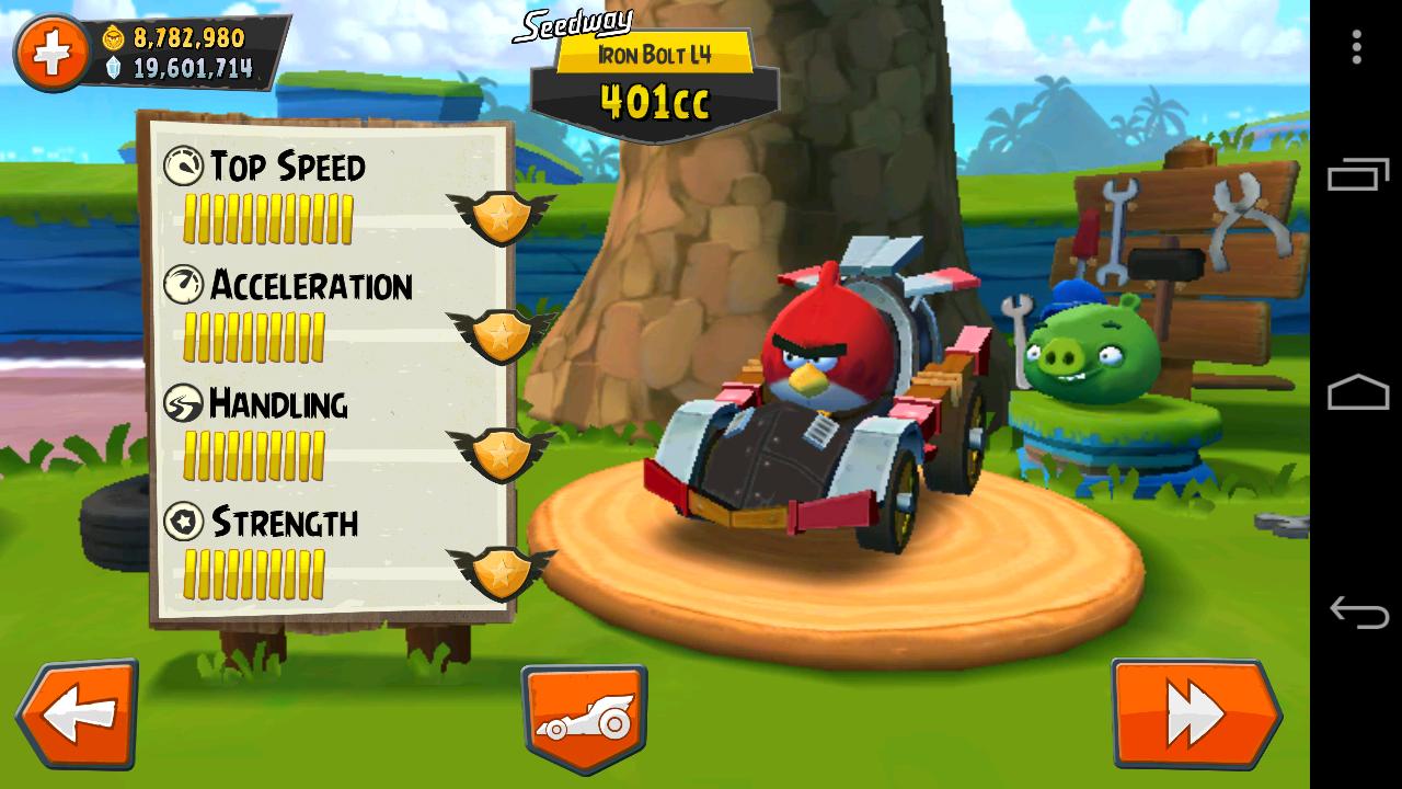 Игра Angry Birds Go! играть на компьютере