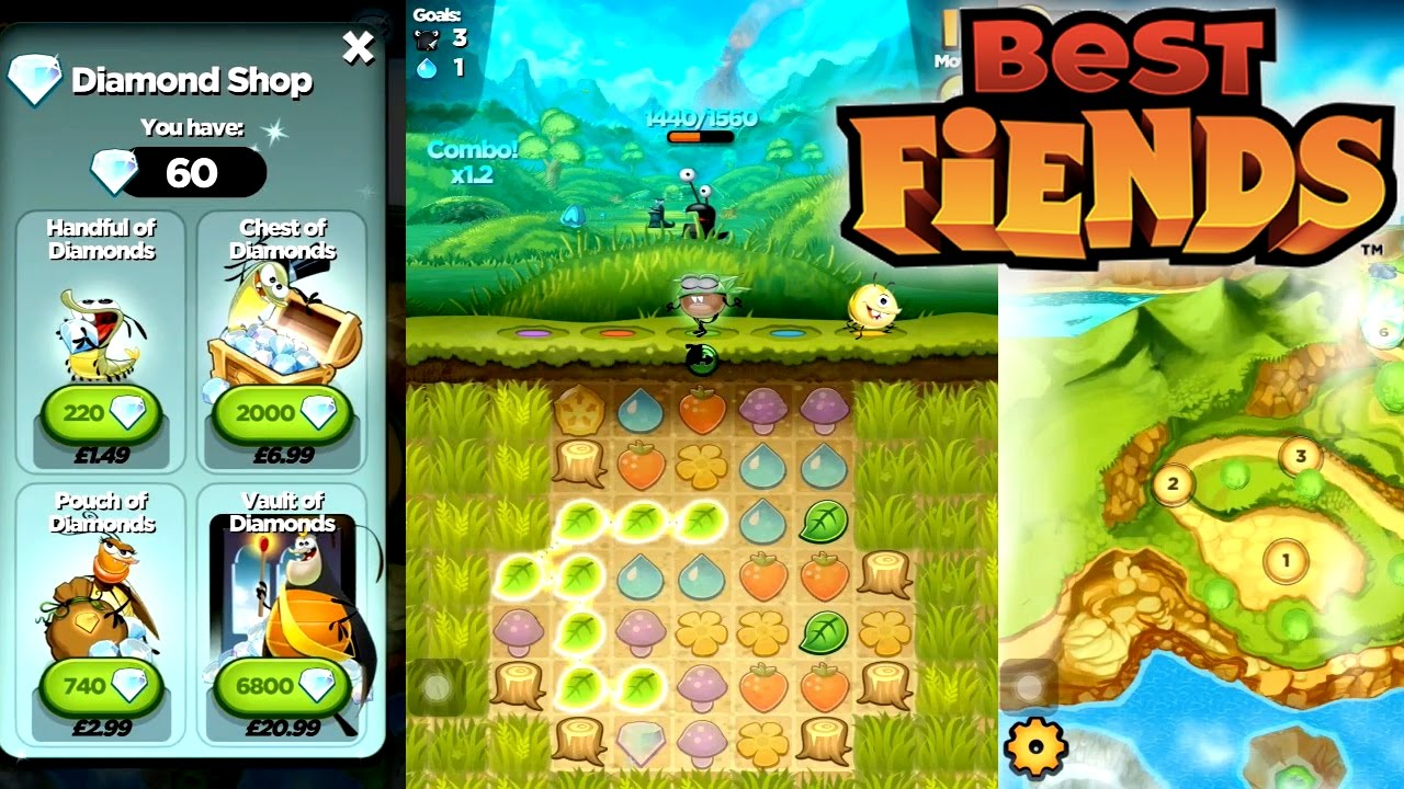 Best Fiends играть на компьютере